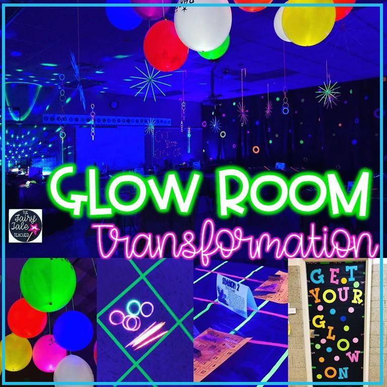 Glow Room Pinterest